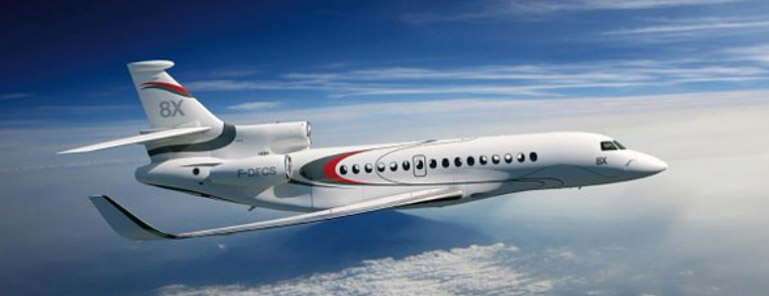 Dassault Falcon Jet - Galley Support Innovations Client