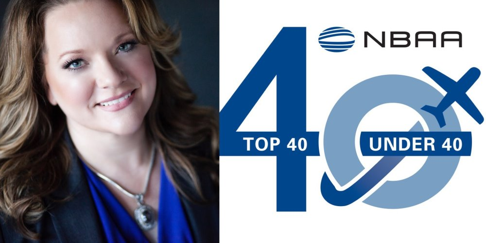 CEO Gina Radke Named to Business Aviation Top 40 Under 40